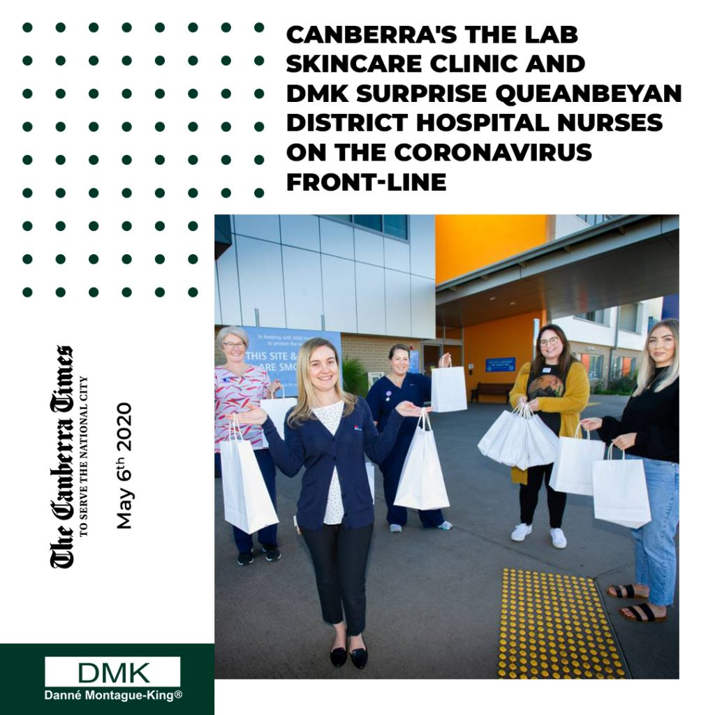 DMK featured in The Canberra Times